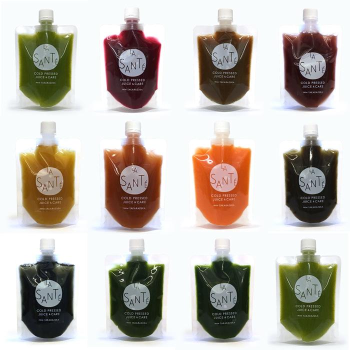 What's Cold Press Juice? コールドプレスジュースとは? 摩擦や熱をくわえないスロージューサーという専用の機械で野菜や果物の水分だけを絞り出したジュース