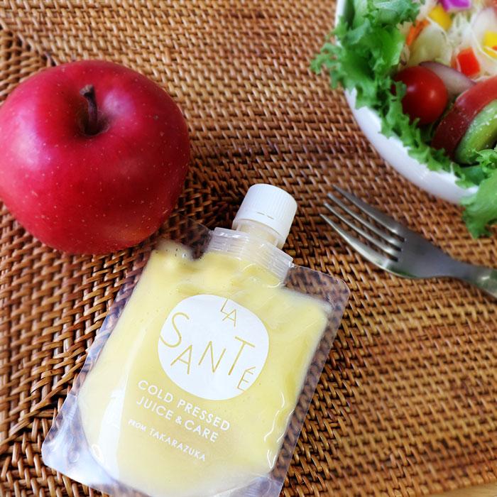 りんごの甘さとレモンの酸っぱさが調和した甘酸っぱいフルーティーなピクルスです