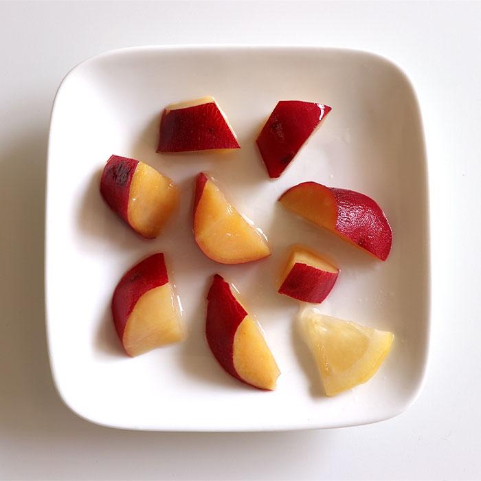 さつまいもの優しい甘みを味わえるピクルスです